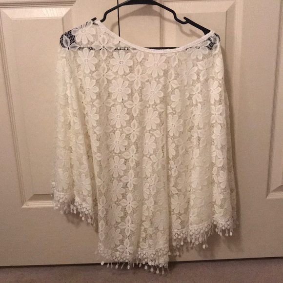 Other - White Poncho